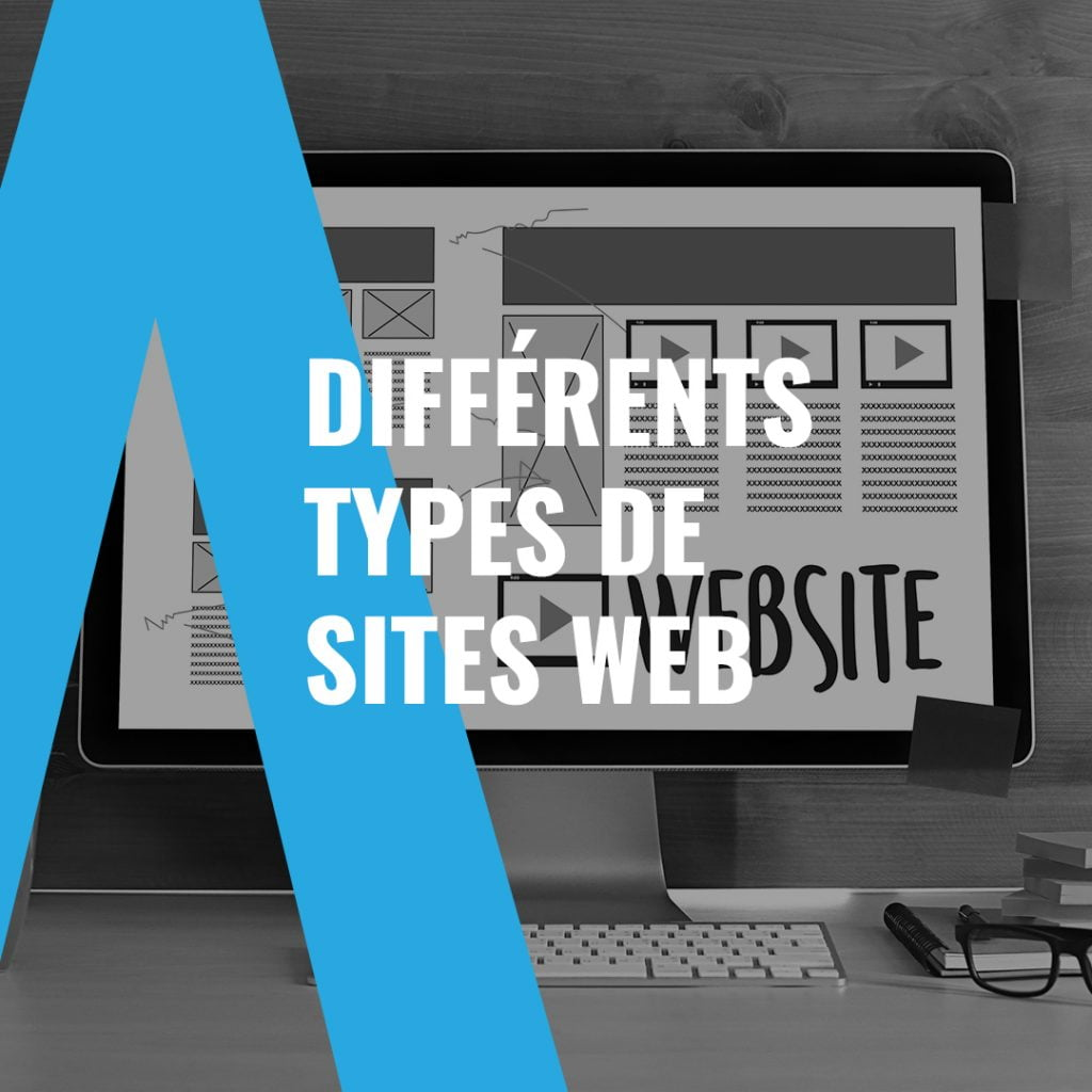 Types de site web