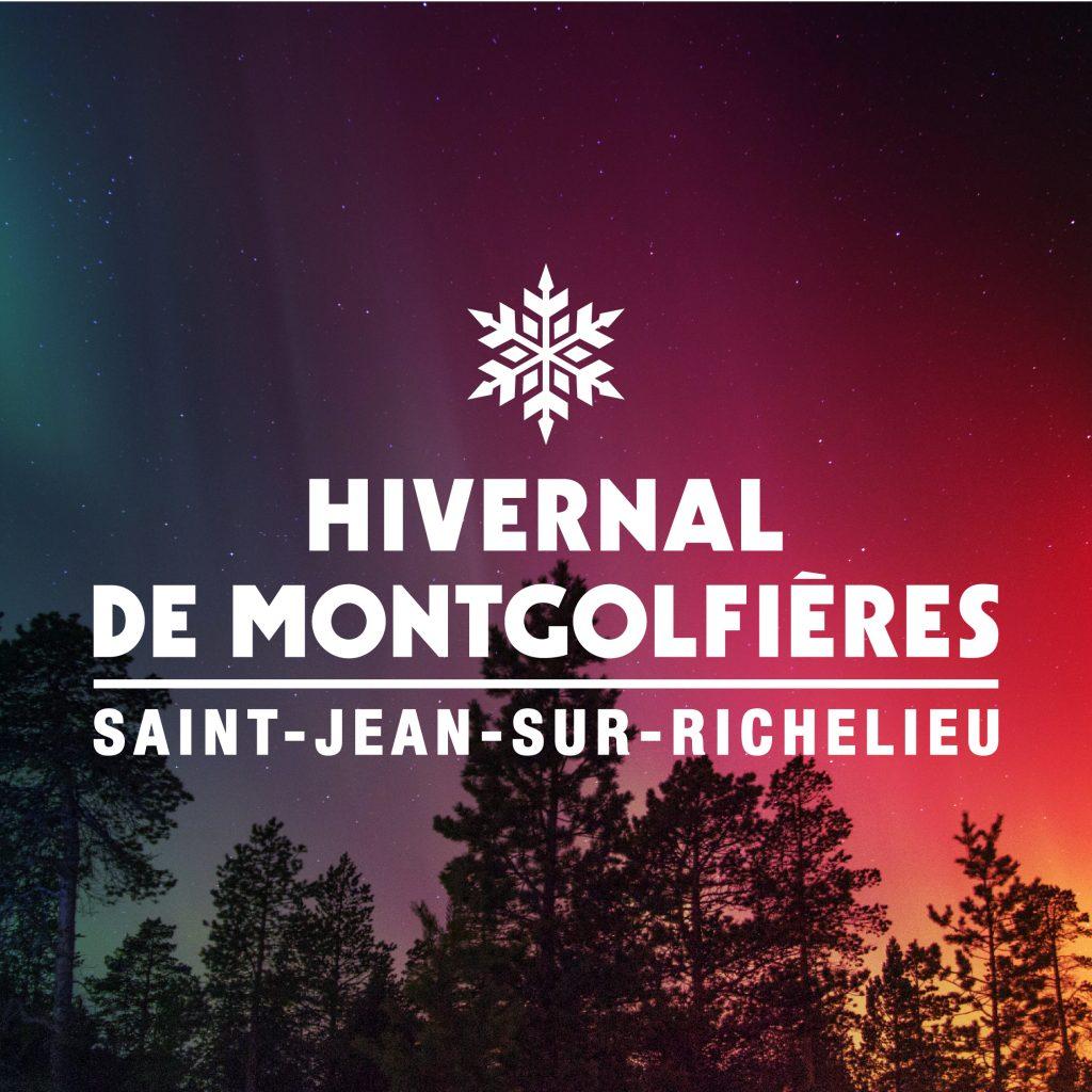 Valeur Média : Identité Visuelle Hivernal de Montgolfières