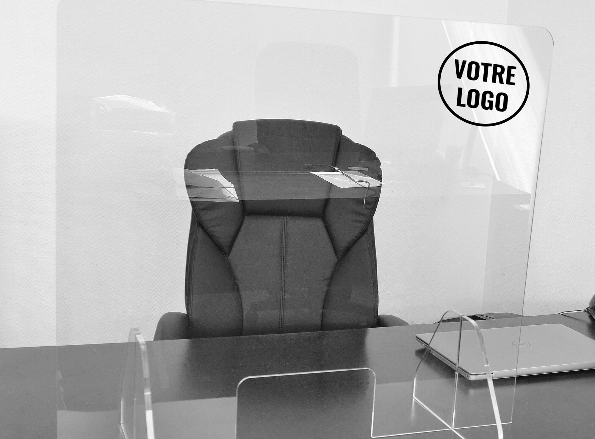 Imprimerie Plexiglass comptoir de protection