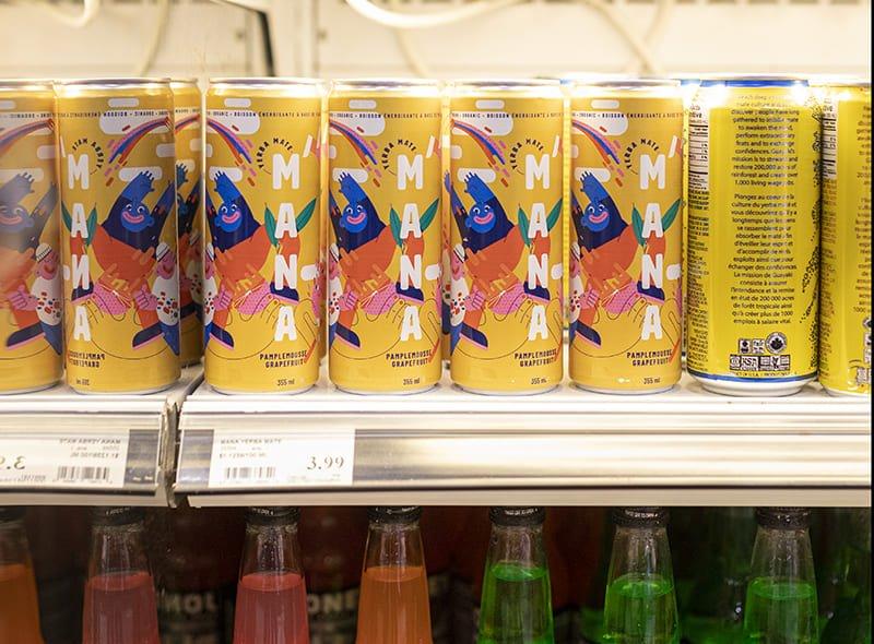 Thé à boire - présentation en magasin