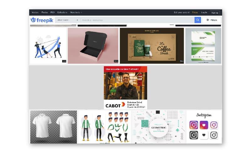 Bannière web - Cabot