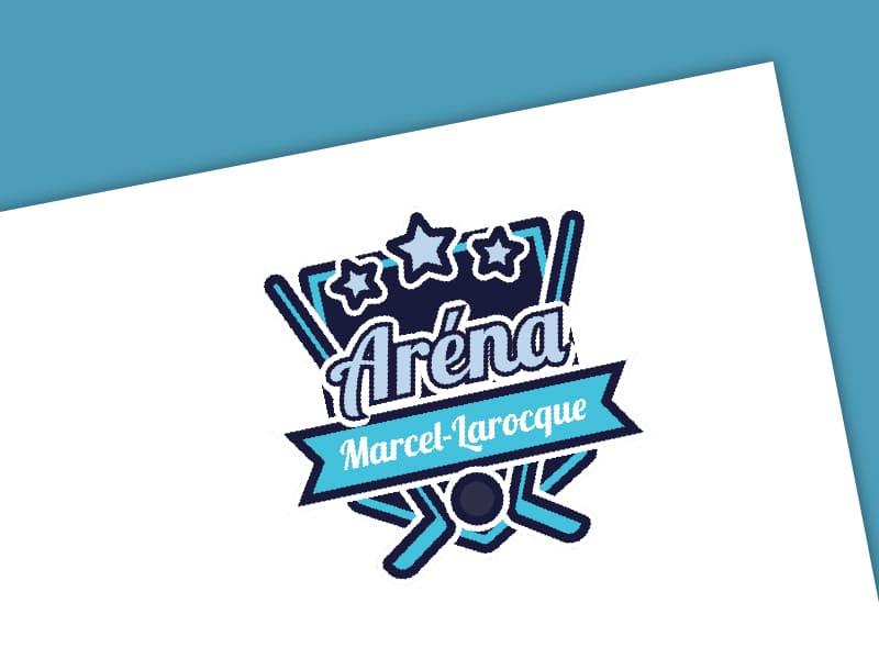 Logo Aréna Marcel-Larocque - Avant