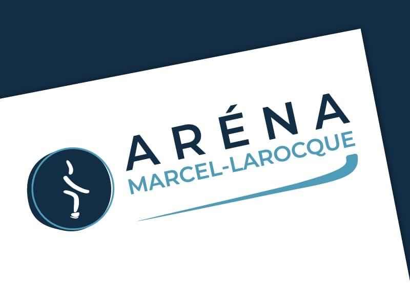 Logo Aréna Marcel-Larocque - Après