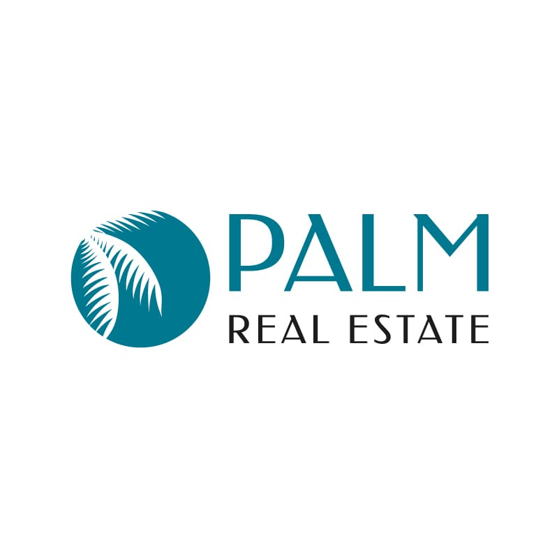 Logo Palm Real Estate après